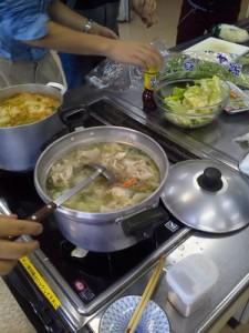鍋会の様子